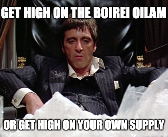Getting High on the Boirei Oilam Collage